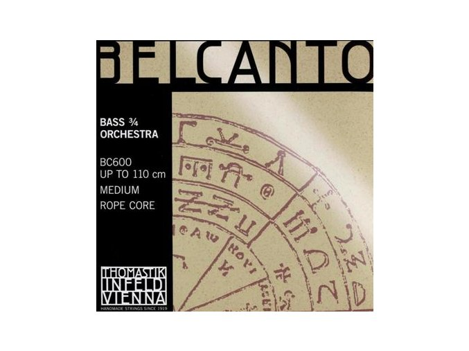 Thomastik BELCANTO set (3/4solo) BC600S