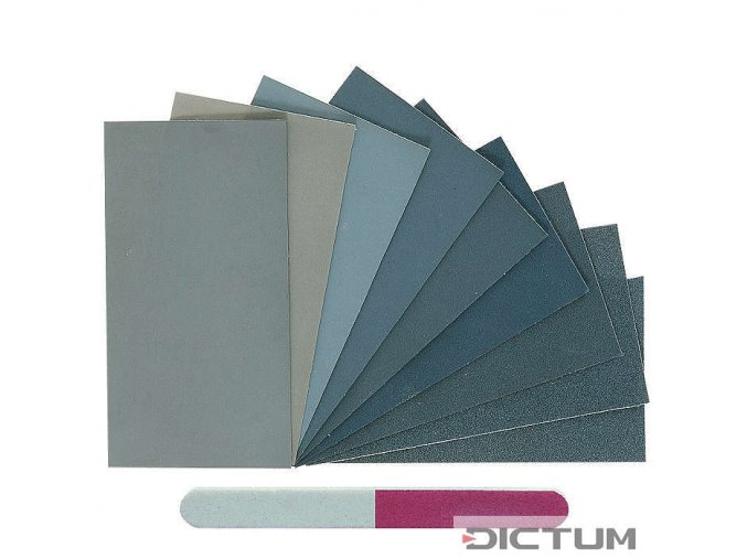 Dictum 705115 - Micro-Mesh® MM Assortment, 11-Piece Set