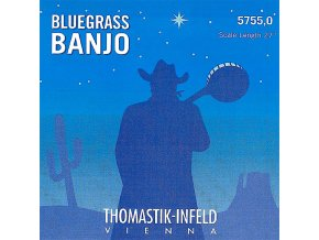 Thomastik BLUEGRASS BANJO 5755,0