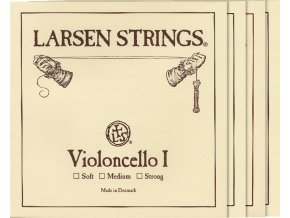Larsen ORIGINAL VIOLONCELLO set