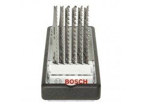 Dictum 712238 - BOSCH Jig Saw Blades Set, Wood Expert - Robust Line, 6-Piece Set
