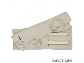Dictum 712877 - Jute Tool Roll for Japanese Saws, Size 1