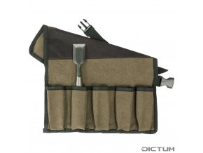Dictum 712900 - Cotton Tool Roll, 5 Pockets