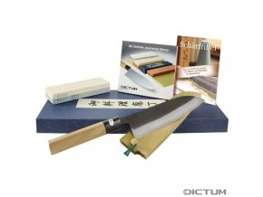 Dictum719196 - All-purpose Knife with Sharpening Stone and DVD