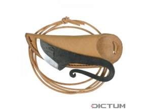 Dictum 719707 - Knife Pendant with Leather Sheath