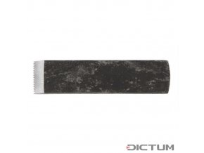 Dictum 702503 - Toothed Blade for Herdim® Plane, Flat, Blade Width 12 mm