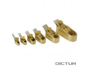 Dictum 702566 - Herdim® Plane with Screw Cap, Flat Sole, Blade Width 5 mm