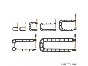 Dictum 735730 - Herdim® Repair Clamps, 7-Piece Set