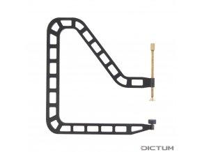Dictum 735734 - Herdim® Over the Rib Repair Clamp, Jaw Depth 210 mm