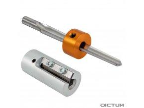 Dictum 730215 - Herdim® Peg Shaper and Reamer, 3-Piece Set, Violin, 7.8 mm