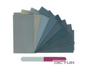 Dictum 705116 - Micro-Mesh® MM Assortment, 20-Piece Set