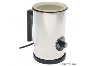 Dictum 736001 - Herdim® Glue Pot, Ceramic Container, 250 ml, 230 V