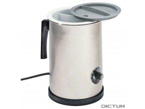 Dictum 736003 - Herdim® Glue Pot, Plastic Container with Lid, 1 L, 230 V