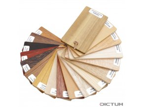 Dictum 831010 - Asian Wood Sample Set