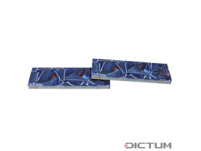 Dictum 831388 - Acrylic Handle Scales, Blue/Red/White