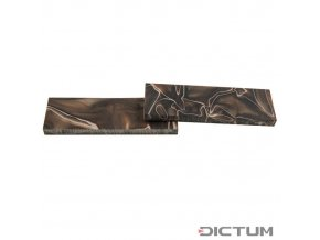 Dictum 831462 - Acrylic Handle Scales, Chocolate