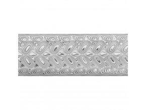 Dictum 831809 - Damasteel® DS93X™ Hakkapella™ Damascus Steel, 32 x 2.5 x 210 mm