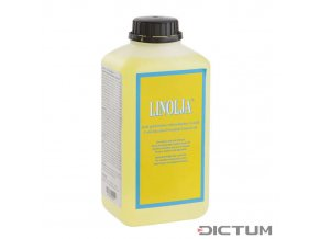Dictum 705275 - Linolja® Organic Swedish Linseed Oil, Cold-Bleached, 1 l