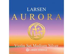 aurora vln set medium silver w