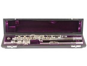 TREVOR JAMES PRIVILEGE flétna E-mechanika, otevřené klapky, stříbrný náústek PF-ROESLR