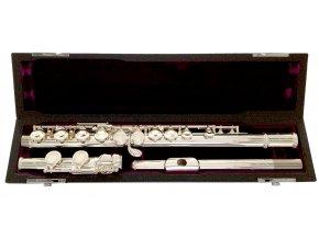 TREVOR JAMES CANTABILE flétna E-mechanika, stříbrná hlavice, otevřené klapky, H nožka CF-HROE