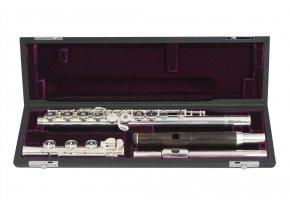 TREVOR JAMES VIRTUOSO flétna s dvěma hlavicemi (eben a stříbro) VF-ROEWD