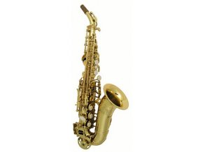 TREVOR JAMES SR Bb soprán saxofon zahnutý zlatolak