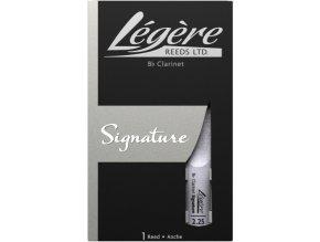 LÉGÉRE SIGNATURE Bb klarinetový plátek 2,25