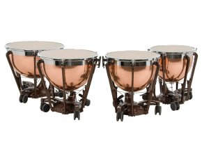 adams professional hammered copper