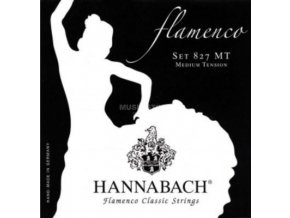 hannabach k git saiten satz 827 mt nylon medium flamenco 1 GIT0022378 000