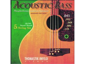 THOMASTIK ACOUSTIC 5 str. nylon AB345
