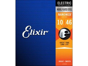 ELIXIR NANOWEB Nickel plated 010-046