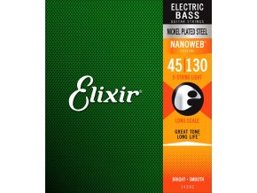 Elixir NANOWEB Electric Bass 14202