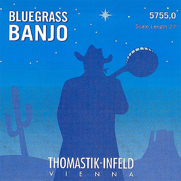 Thomastik BLUEGRASS BANJO 5755,0 - Struny na banjo - sada