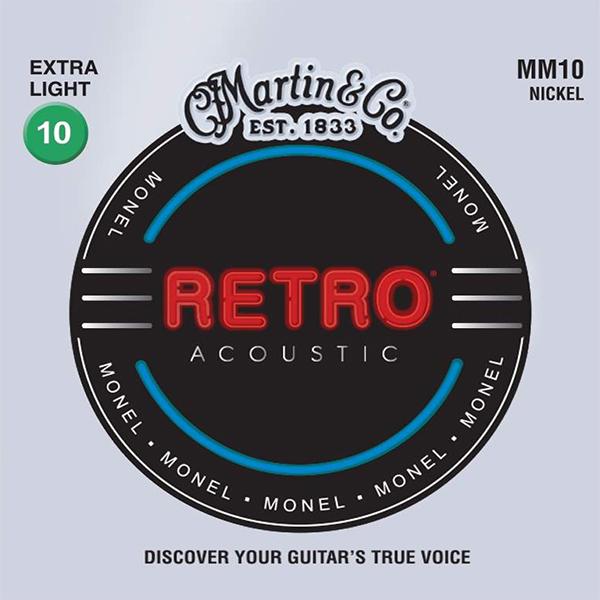Martin RETRO MM10 - Struny na akustickou kytaru - sada