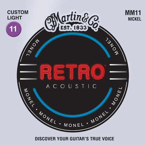 Martin RETRO MM11 - Struny na akustickou kytaru - sada