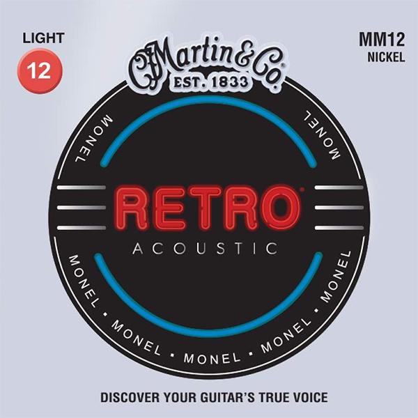 Martin RETRO MM12 - Struny na akustickou kytaru - sada
