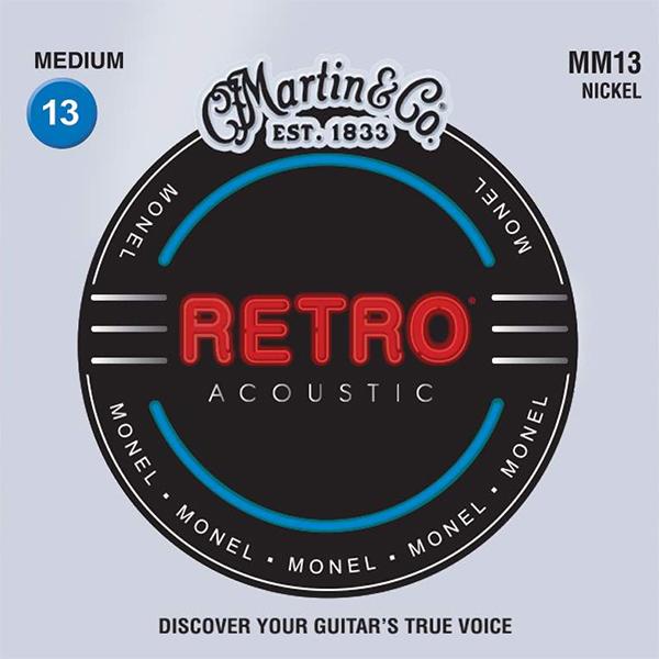 Martin RETRO MM13 - Struny na akustickou kytaru - sada