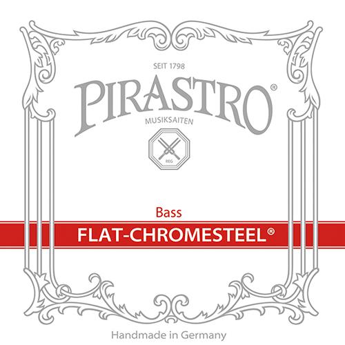 Pirastro FLAT-CHROMESTEEL 342020 - Struny na kontrabas - sada