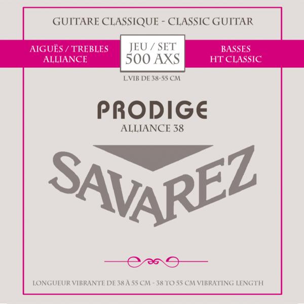 Savarez ALLIANCE PRODIGE 500AXS - Struny na klasickou kytaru - sada
