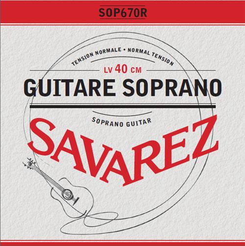 Savarez SOP670R - Nylonové struny na kytaru - sada