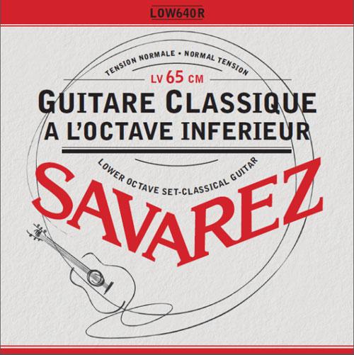 Savarez LOW640R - Nylonové struny na kytaru - sada