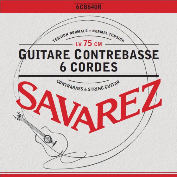 Savarez 6CB640R - Nylonové struny na kytaru - sada
