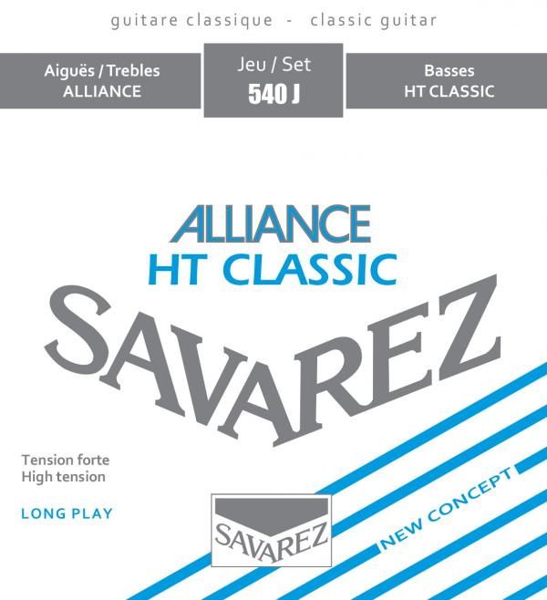 Savarez ALLIANCE HT CLASSIC 540J - Nylonové struny na kytaru - sada