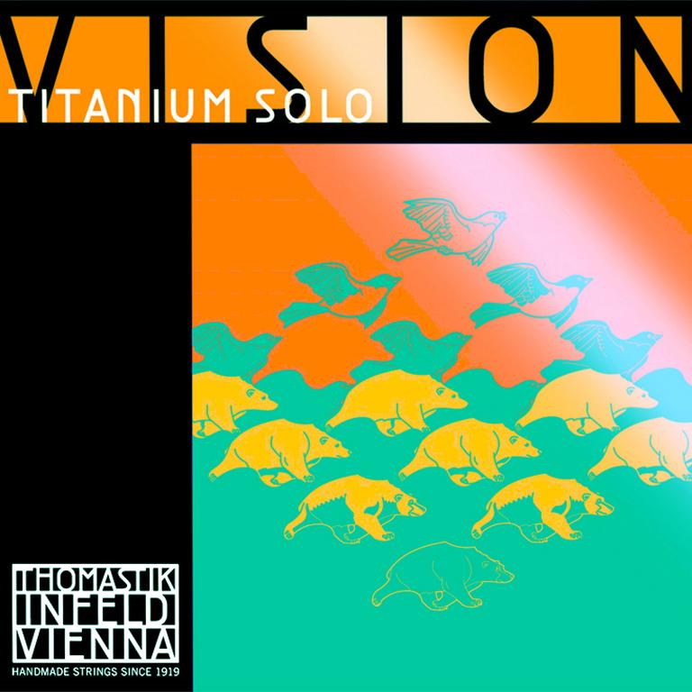 THOMASTIK VISION TITANIUM SOLO VIT100 Houslové struny - sada