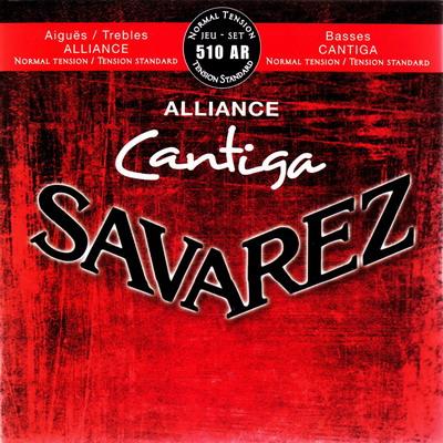 Savarez CANTIGA ALLIANCE 510AR - Nylonové struny na kytaru - sada