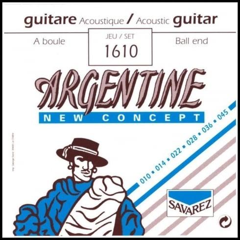 SAVAREZ ARGENTINE gypsy 010 kulička 1610 Struny na akustickou kytaru - sada