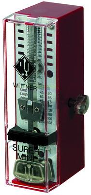 WITTNER SUPER MINI červený Mechanický metronom
