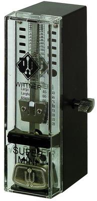 WITTNER SUPER MINI černý Mechanický metronom