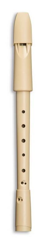 MOLLENHAUER SWING sopránová plastová bílá 705 Zobcová flétna